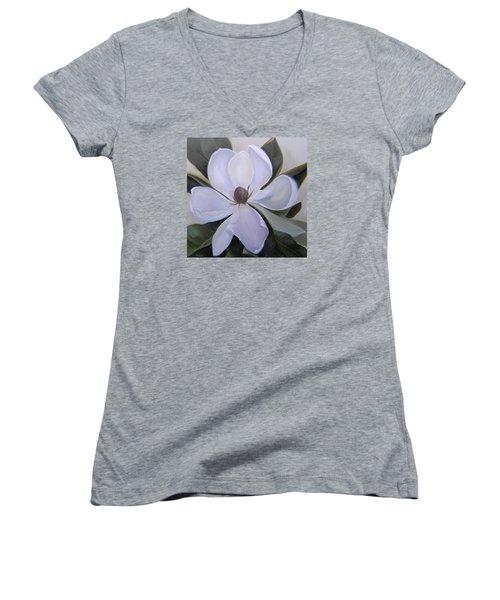 Magnolia Square Women's V-Neck T-Shirt