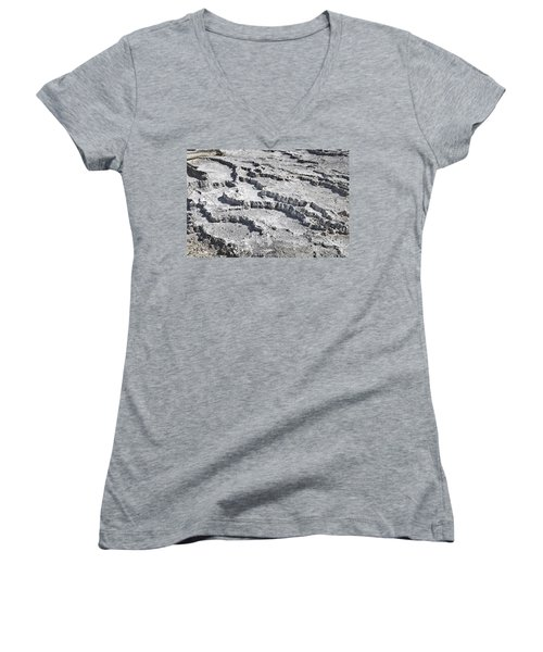 Mammoth Terraces Detail Women's V-Neck (Athletic Fit)