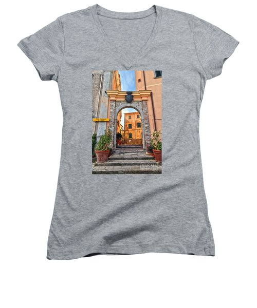 Marciana - Ancient Gate Women's V-Neck T-Shirt