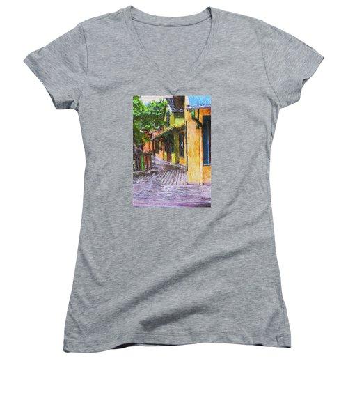 Jimmy Buffet's Margaritaville Women's V-Neck T-Shirt