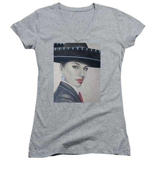 Mariachi Women's V-Neck T-Shirt