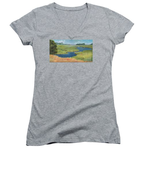 Marshes Women's V-Neck (Athletic Fit)