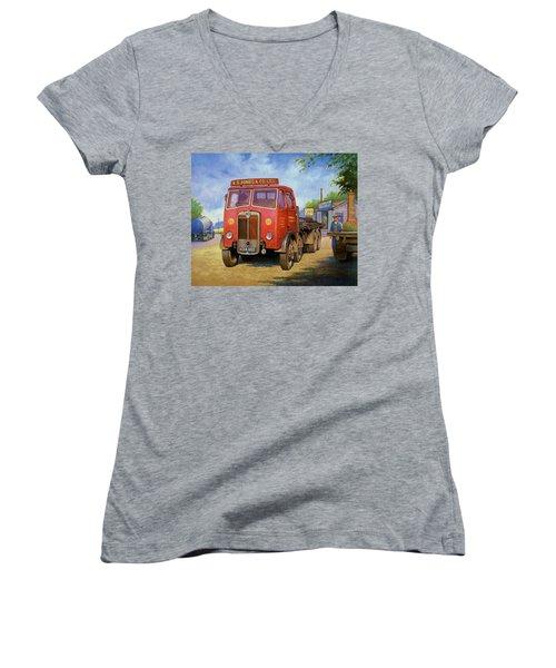 Maudslay Meritor Women's V-Neck T-Shirt