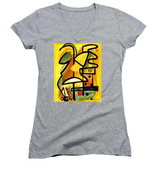 Mayan Women's V-Neck (Athletic Fit)