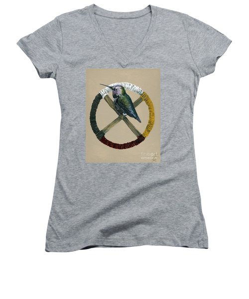 Medicine Wheel Women's V-Neck