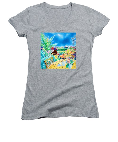 Mellow Afternoon Women's V-Neck