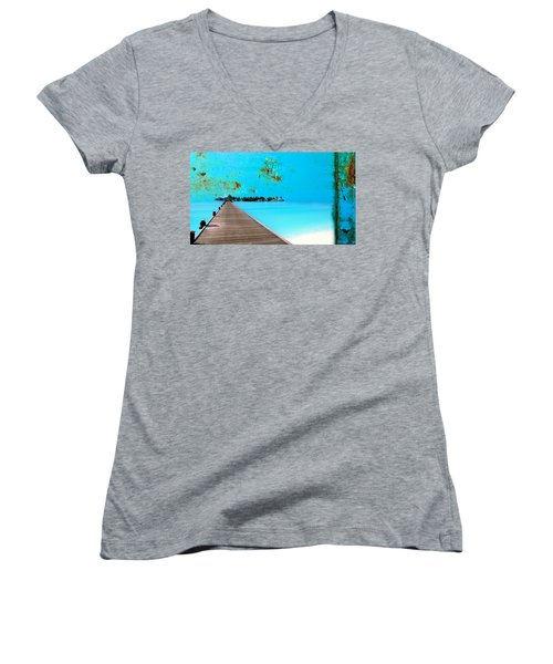 Metalbeach Women's V-Neck T-Shirt