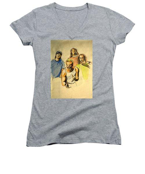 Mettalica Women's V-Neck T-Shirt