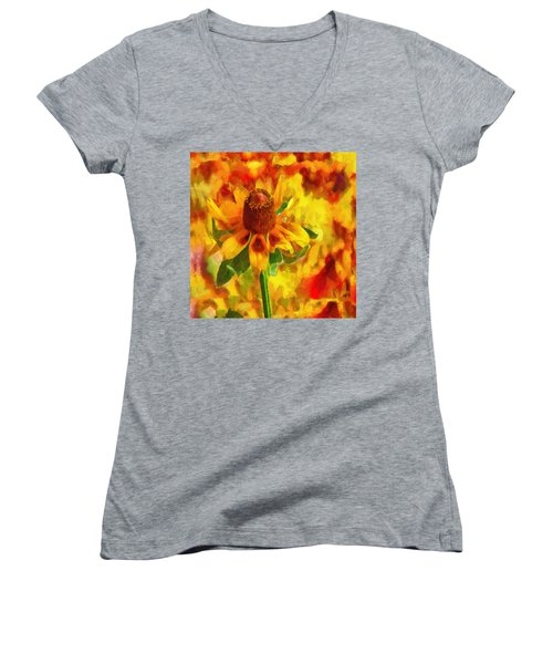Mexican Hat Dance Women's V-Neck (Athletic Fit)