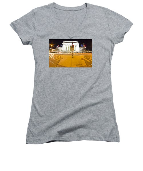 Midnight Train From Philly Women's V-Neck