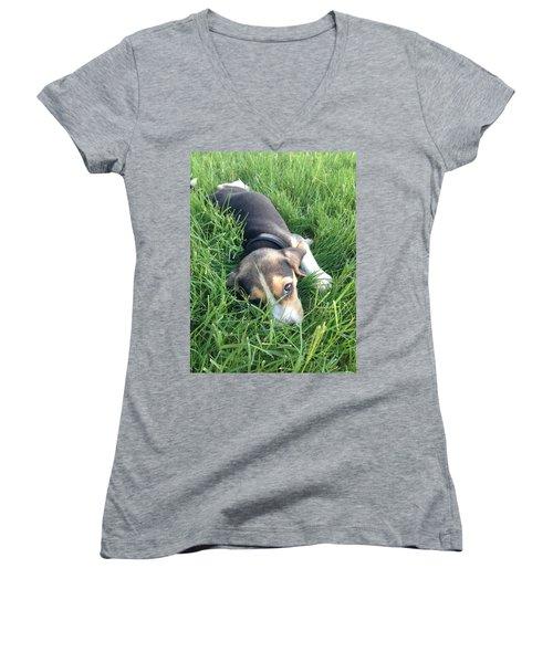 Milo Women's V-Neck T-Shirt