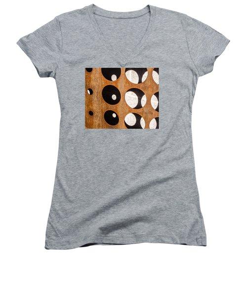 Mind - Contemplation Women's V-Neck T-Shirt