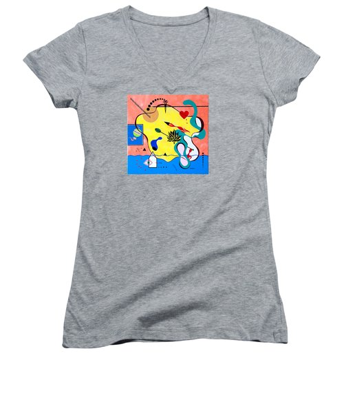 Miro Miro On The Wall Women's V-Neck T-Shirt