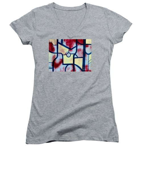 Misconception Women's V-Neck T-Shirt (Junior Cut)