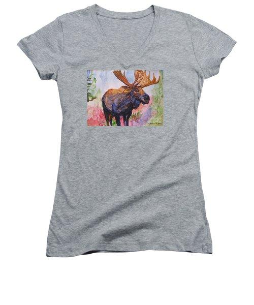 Mister Moose Women's V-Neck