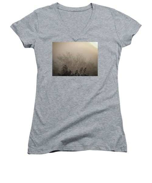 Misty Morning Women's V-Neck