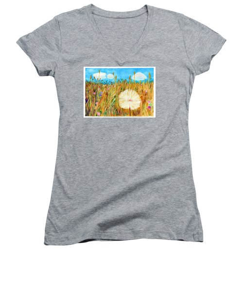 Montana Hike Women's V-Neck (Athletic Fit)