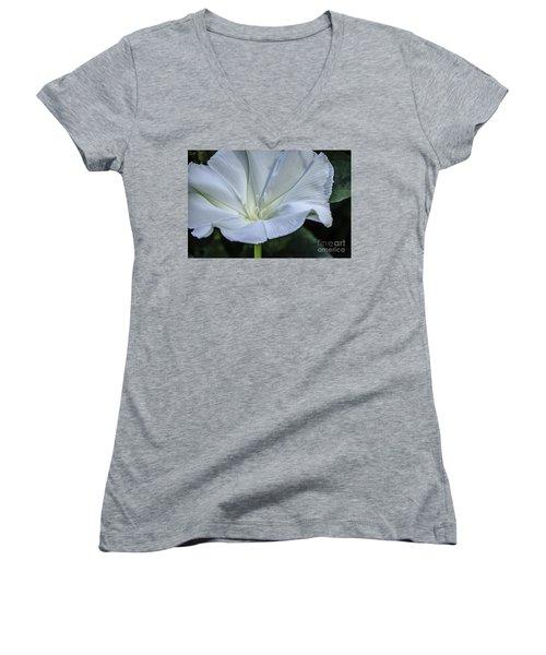 Moonflower 1 Women's V-Neck