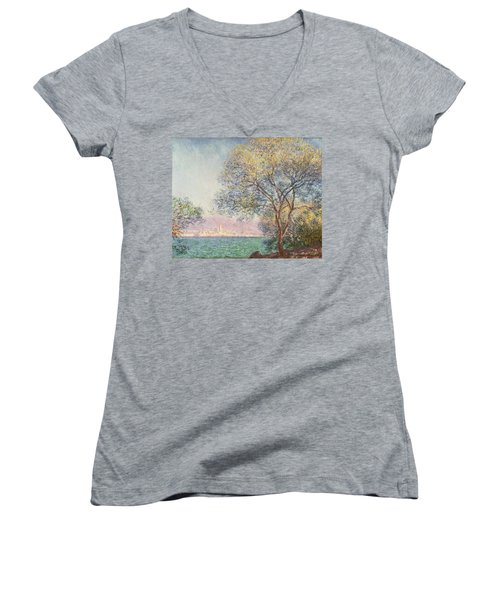 Morning At Antibes Women's V-Neck T-Shirt