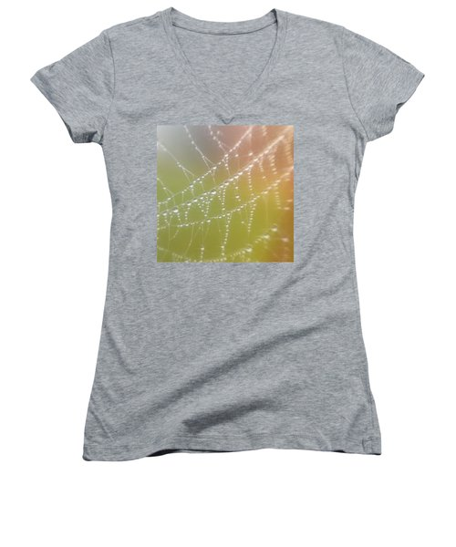 Morning Dew Women's V-Neck