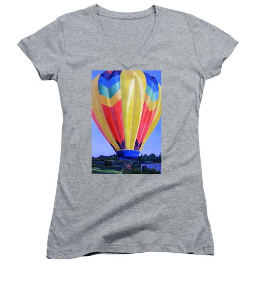 Morning Flight Women's V-Neck