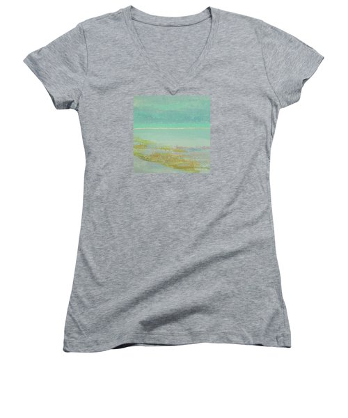 Morning Low Tide Women's V-Neck (Athletic Fit)