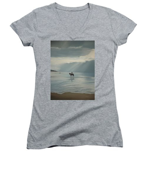 Morning Ride Women's V-Neck