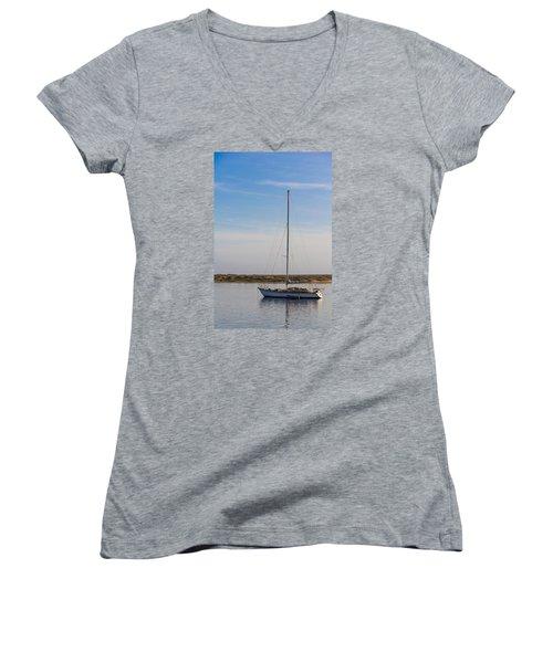 Morro Bay 2 Women's V-Neck T-Shirt