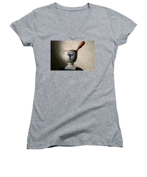 Mortar And Pestle Two Women's V-Neck T-Shirt