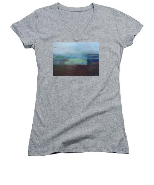Motion Window Women's V-Neck T-Shirt
