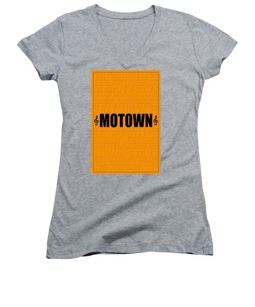 Motown Women's V-Neck