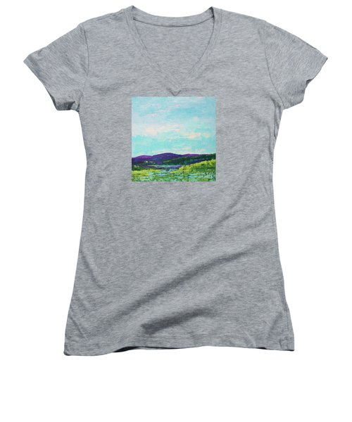 Mountain Lake Women's V-Neck (Athletic Fit)