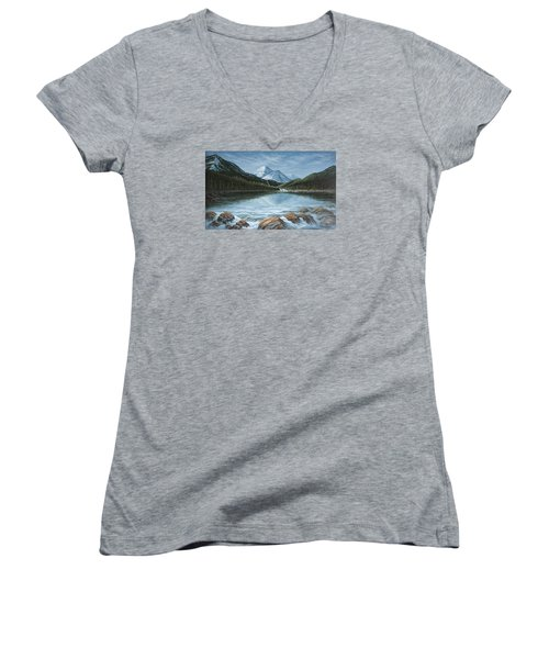 Mountain Paradise Women's V-Neck