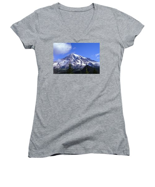 Mt. Rainier Women's V-Neck