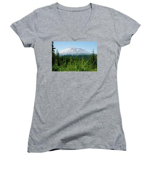 Mt. St. Helens Women's V-Neck