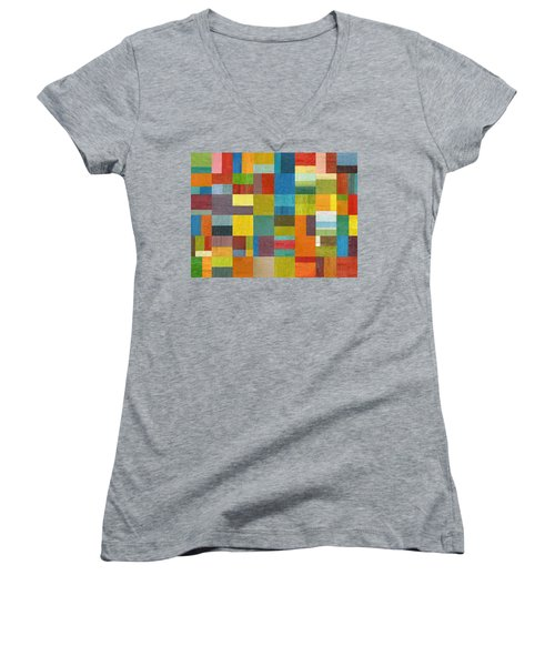 Multiple Exposures Lll Women's V-Neck