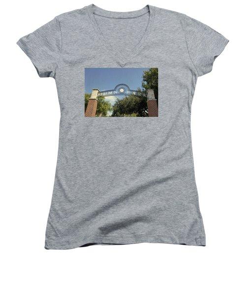 Munn Park Women's V-Neck T-Shirt