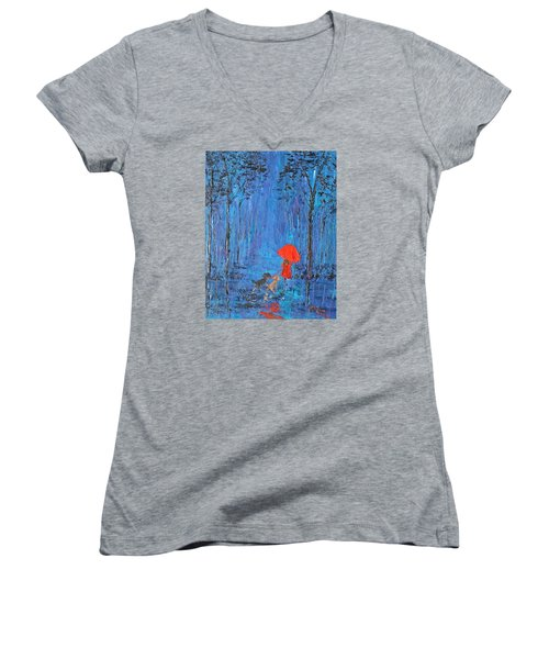 My Journey  Women's V-Neck T-Shirt