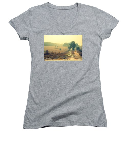 Naked Tree Farm Women's V-Neck
