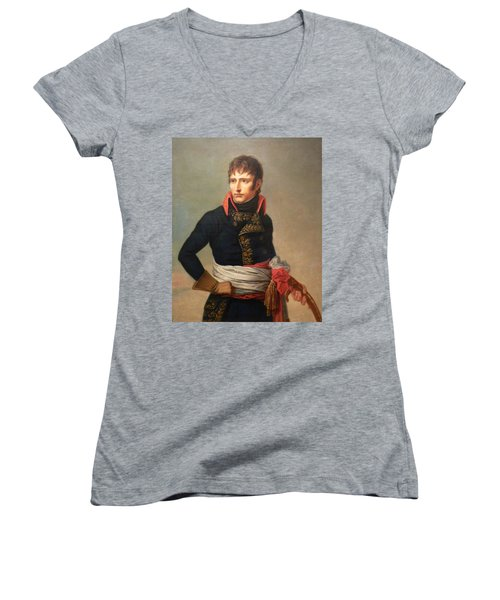 Napoleon Bonaparte As First Consul Women's V-Neck (Athletic Fit)