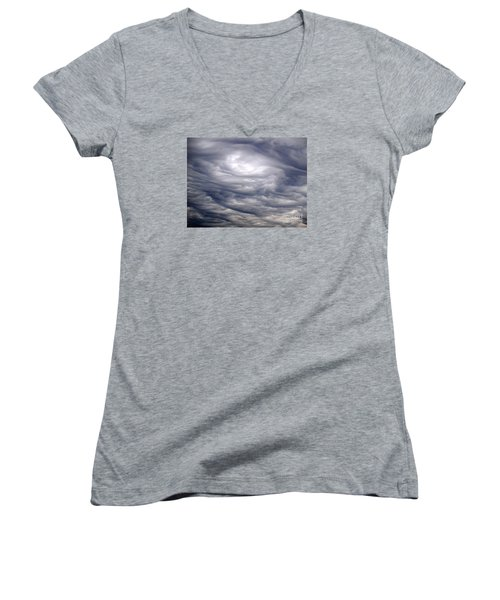 Women's V-Neck T-Shirt (Junior Cut) featuring the photograph Natural Beauty 1 by Susan  Dimitrakopoulos