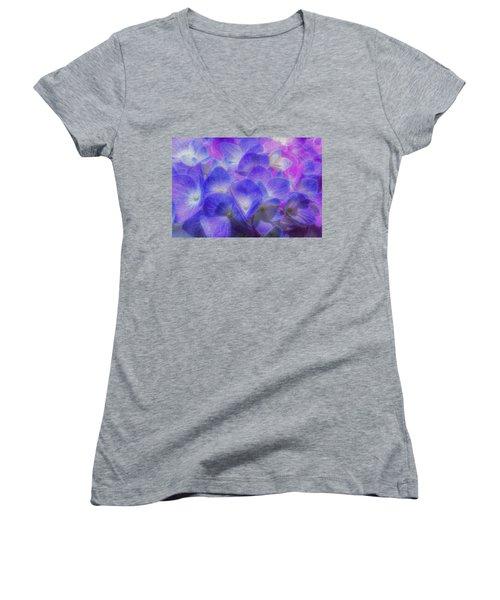 Nature's Art Women's V-Neck T-Shirt