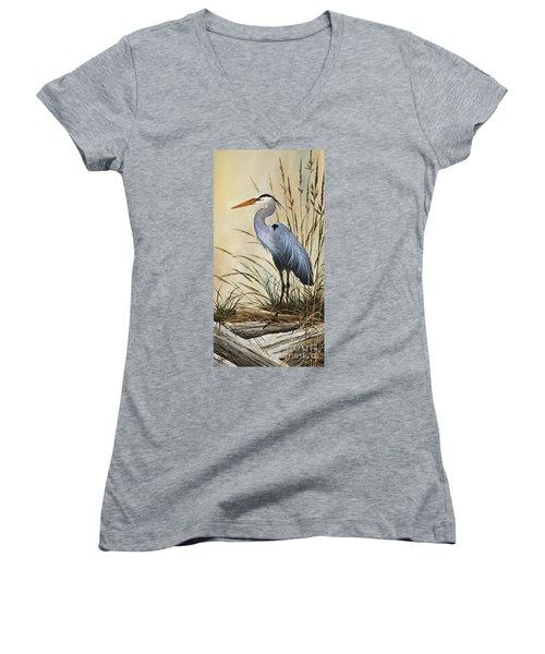 Natures Grace Women's V-Neck T-Shirt