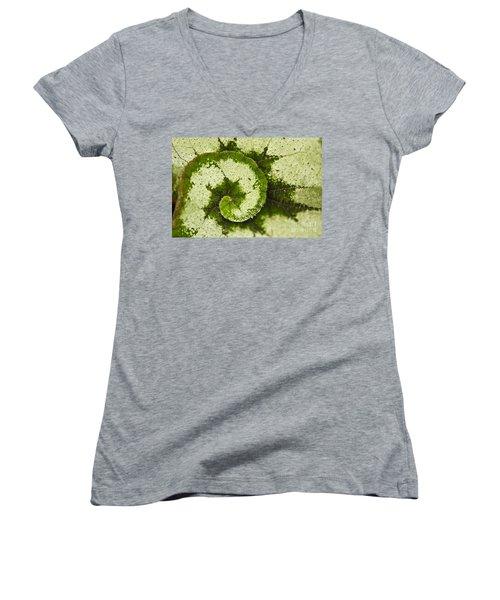 Natures Spiral Women's V-Neck