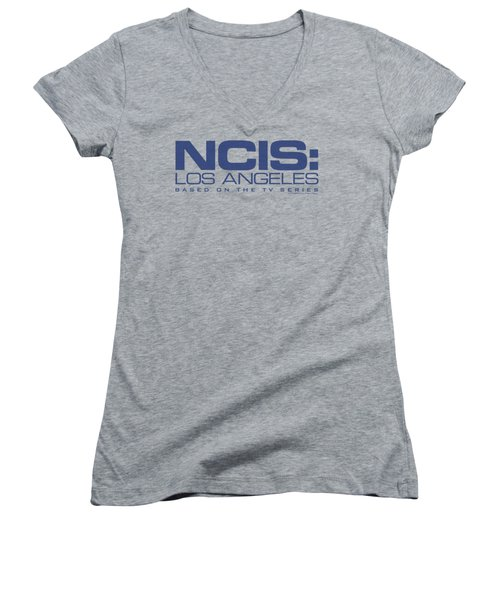 Ncis La - Logo Women's V-Neck T-Shirt