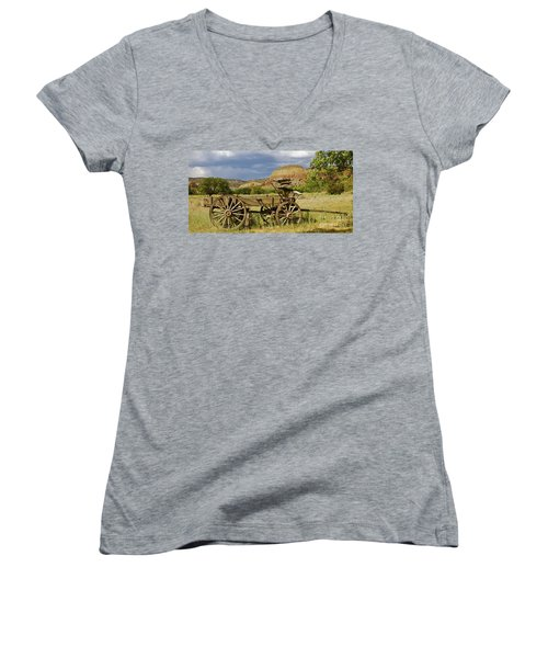 New Photographic Art Print For Sale Ghost Ranch New Mexico 13 Women's V-Neck