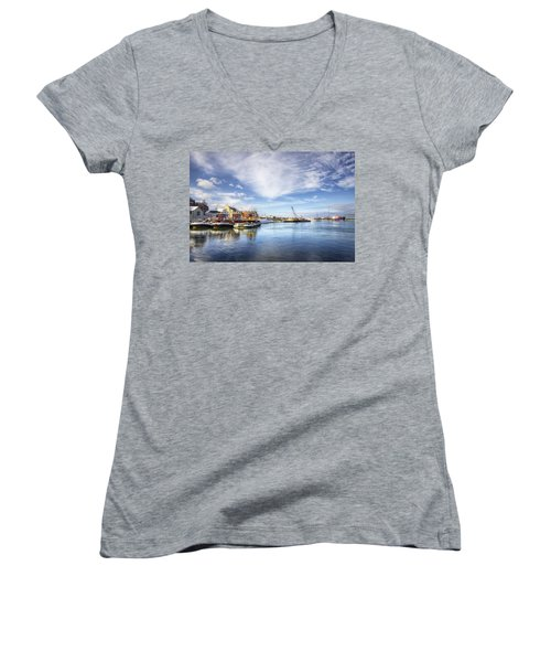 New Years In Portsmouth Nh Women's V-Neck T-Shirt