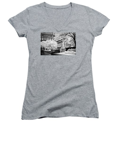 New York Public Library Ir Women's V-Neck