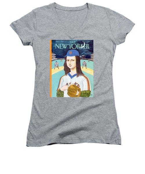 New Yorker June 3rd, 1991 Women's V-Neck