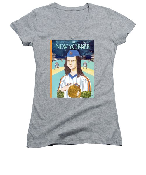New Yorker June 3rd, 1991 Women's V-Neck